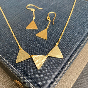 Nikala Artisan Gold Earrings