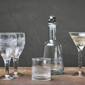 Manilla Wine Glass - Clear