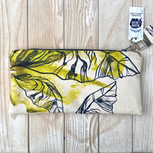 Load image into Gallery viewer, Medium Organic Cotton Pouch - Lime