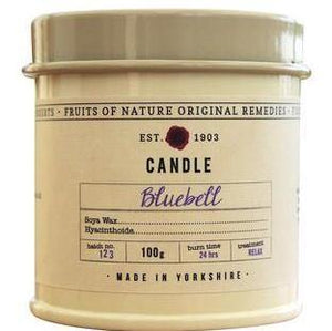 Fruits of Nature Candle Small - BLUEBELL 100g
