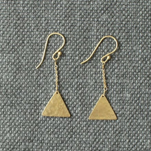 Load image into Gallery viewer, Nikala Artisan Gold Earrings