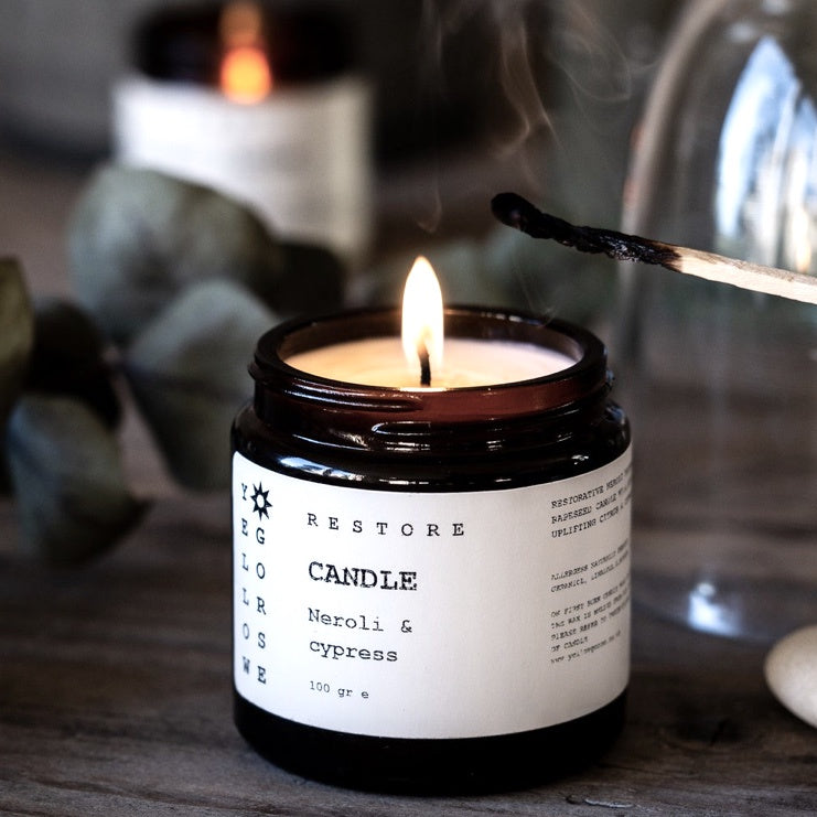 Natural Rapeseed Candle - Restore