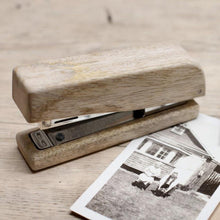 Load image into Gallery viewer, 50% OFF - Mango Wood Stapler