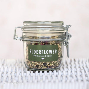 Elderflower, Elderberry & Hibiscus Herbal Tea