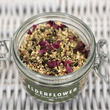 Load image into Gallery viewer, Elderflower, Elderberry & Hibiscus Herbal Tea