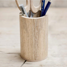 Load image into Gallery viewer, 50% OFF - Mango Wood Pen Pot