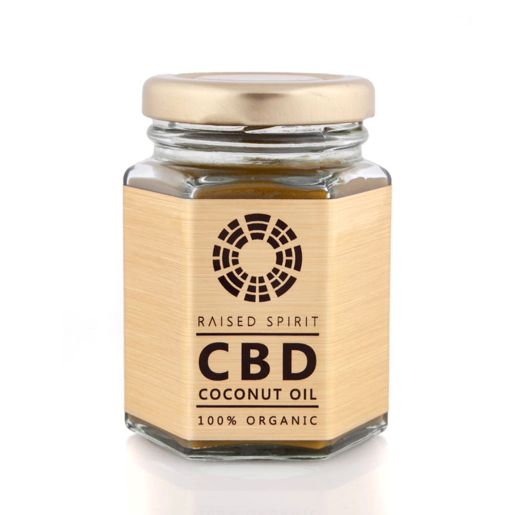 Raised Spirit Organic Coconut Oil GOLD - AVAILABLE IN STORE ONLY
