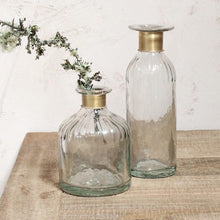 Load image into Gallery viewer, Clara Decorative Glass Bottle - Large