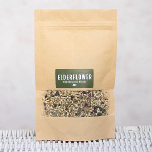 Elderflower, Elderberry & Hibiscus Herbal Tea - REFILL POUCH