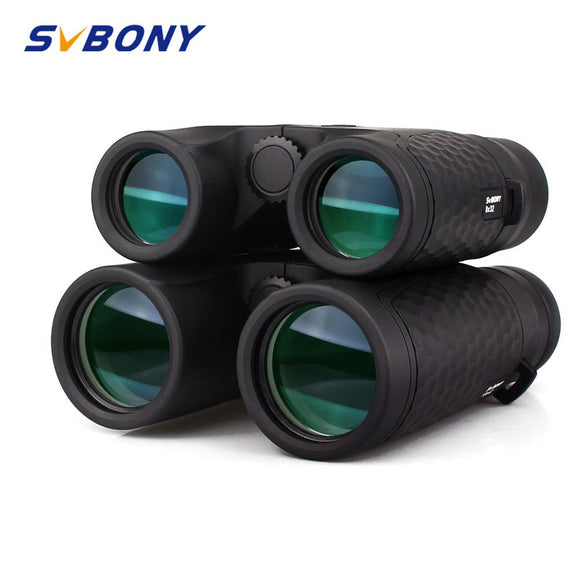 SVBONY 8x32/10x42 Fixed Focus Binoculars Waterproof High Power