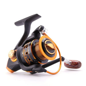 Spinning Fishing Reel 12BB + 1 Bearing Balls 500-9000 Series
