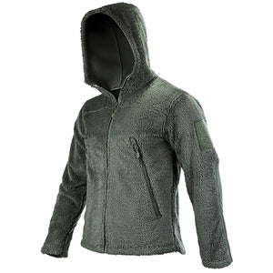 FREE SOLDIER outdoor tactical sweatshirt with fleece