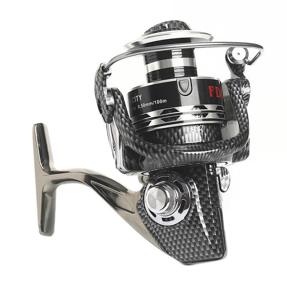 2018 Hot Sale Fish Reel 12+1BB Seamless Metal Spinning Fishing Reel