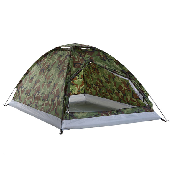 Portable Camping Tent for 2 Person Single Layer Outdoor Tents