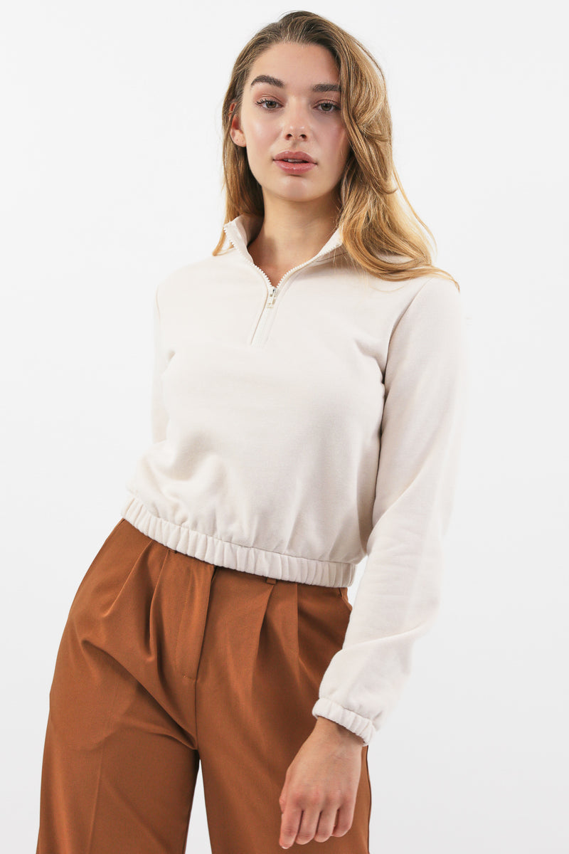 Lou cropped sweater