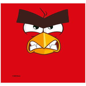 Angry Birds Red Face Adult Mask Design Full View