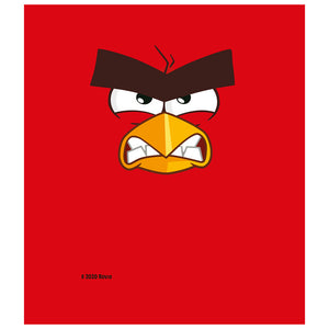 Angry Birds Red Face Kids Mask Design Full View