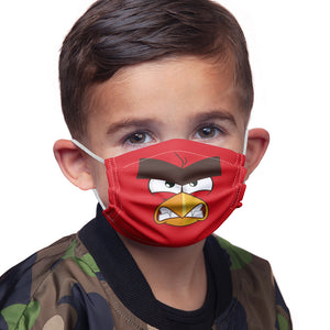 Angry Birds Red Face Kids Main Model View