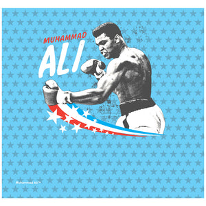 Muhammad Ali All-Star Adult Mask Design Full View