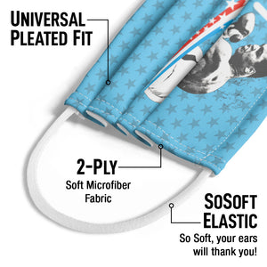 Kids Universal Pleated Fit, 2-Ply, SoSoft Elastic Earloops