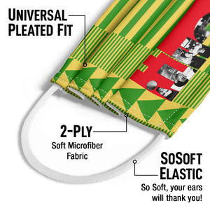 Muhammad Ali Rumble Fight Kids Universal Pleated Fit, 2-Ply, SoSoft Elastic Earloops
