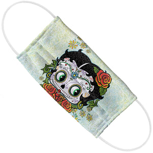Betty Boop Sugar Skull Adult Flat View