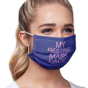 Resting Mask Face Adult Main/Model View