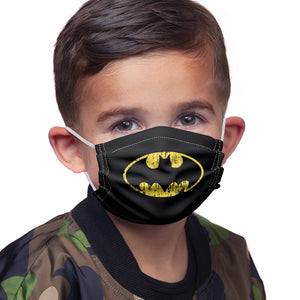 Load image into Gallery viewer, Batman Classic Logo Distressed Kids Main Model View