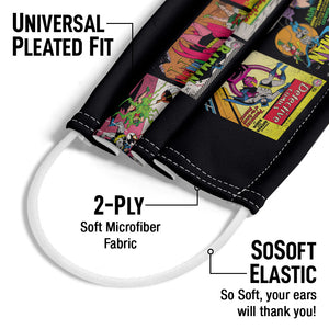Batman Covers Adult Universal Pleated Fit, 2-Ply, SoSoft Elastic Earloops