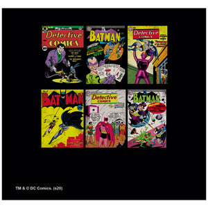 Load image into Gallery viewer, Batman Covers Adult Mask Design Full View