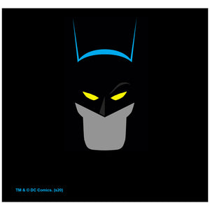 Load image into Gallery viewer, Batman Simplified Adult Mask Design Full View