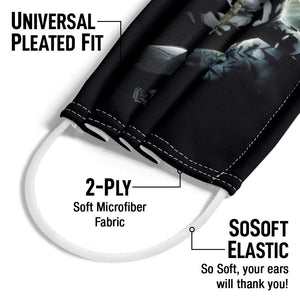 Batman The Knight Adult Universal Pleated Fit, 2-Ply, SoSoft Elastic Earloops