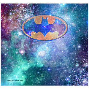 Load image into Gallery viewer, Batman Galaxy Bat Logo Adult Mask Design Full View