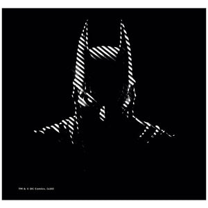 Load image into Gallery viewer, Batman Noir Adult Mask Design Full View