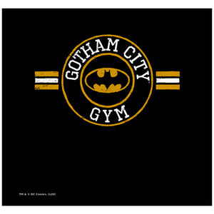 Batman Gotham City Gym Adult Mask Design Full View