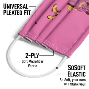 Batgirl All New Adult Universal Pleated Fit, 2-Ply, SoSoft Elastic Earloops