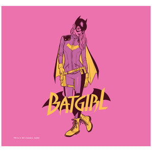 Batgirl All New Adult Mask Design Full View