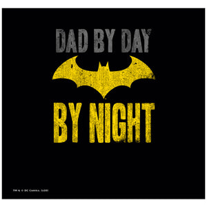 Batman Dad By Day Adult Mask Design Full View