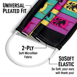 Batman Warhol Adult Universal Pleated Fit, 2-Ply, SoSoft Elastic Earloops
