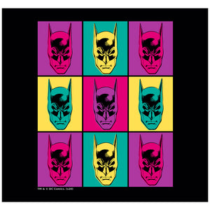 Batman Warhol Adult Mask Design Full View