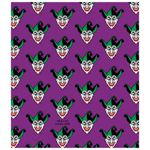 Batman Joker Symbol Pattern Kids Mask Design Full View