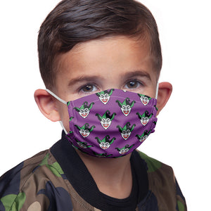 Batman Joker Symbol Pattern Kids Main Model View