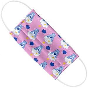 Care Bears Grumpy Bear Pattern Adult Flat View