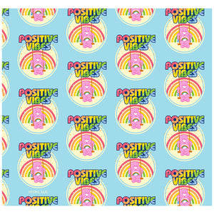 Care Bears Cheer Bear Positive Vibes Pattern