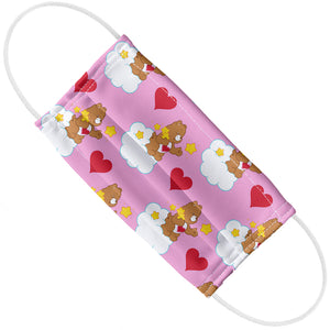 Care Bears Tenderheart Bear Pattern Adult Flat View