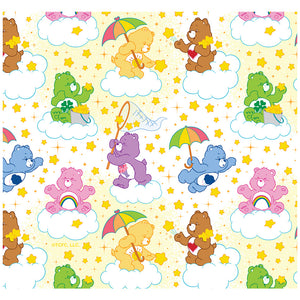 Care Bears Cloud Pattern Adult Mask Design Full View