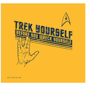 Star Trek Trek Yourself Adult Mask Design Full View