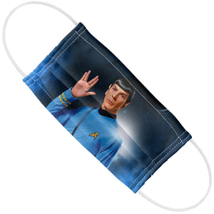 Star Trek Spock Live Long and Prosper Adult Flat View