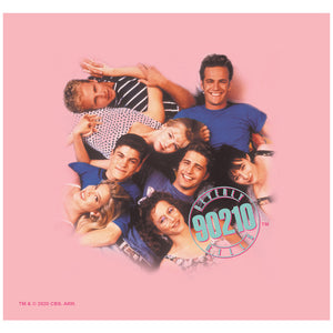 Beverly Hills 90210 Gang Adult Mask Design Full View