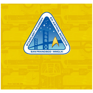 Load image into Gallery viewer, Star Trek Starfleet Academy Logo with Pattern